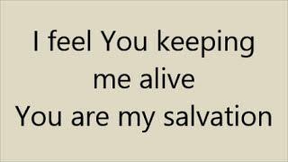 Salvation w/ intro   Skillet   Lyrics