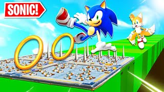 Sonic Speed Deathrun!... in Fortnite!