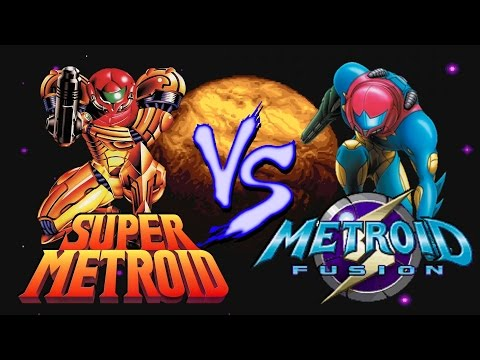 Super Metroid Vs. Metroid Fusion