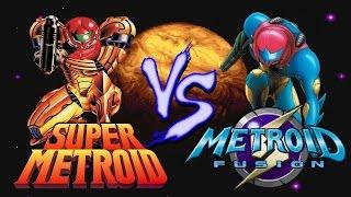 Super Metroid Vs. Metroid Fusion