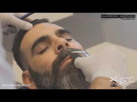 Como fazer barba lenhador