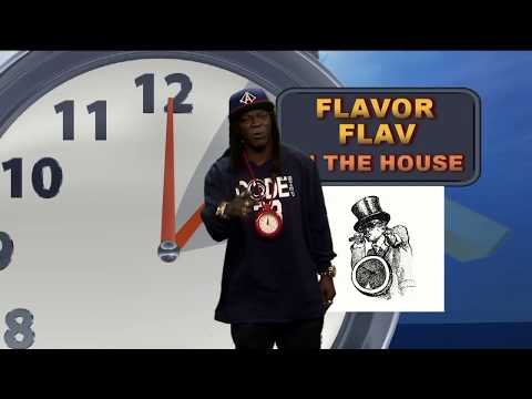 Flavor Flav Delivers Weather Report as Only He Can
