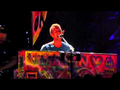 Coldplay  Lovers in Japan & The Scientist   @ Stade de France le 02 09 2012