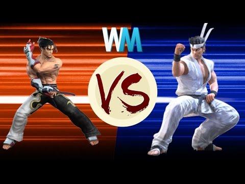Virtua Fighter Vs. Tekken