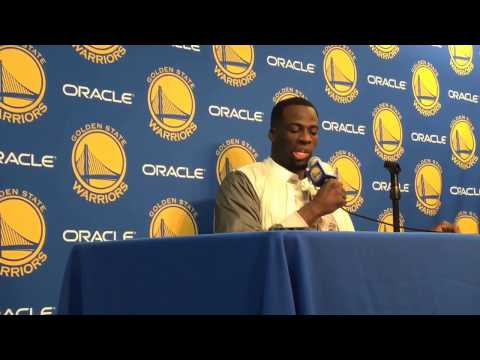 """Draymond on Cristiano Felicio: """"He was able to get a hand on my hand…knock one down after that"""""""