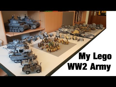 Lego WW2 Army Collection (HUGE) thumbnail
