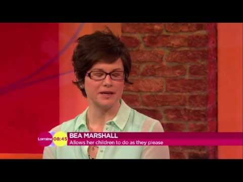 Talking about Yes Parenting on ITV Lorraine