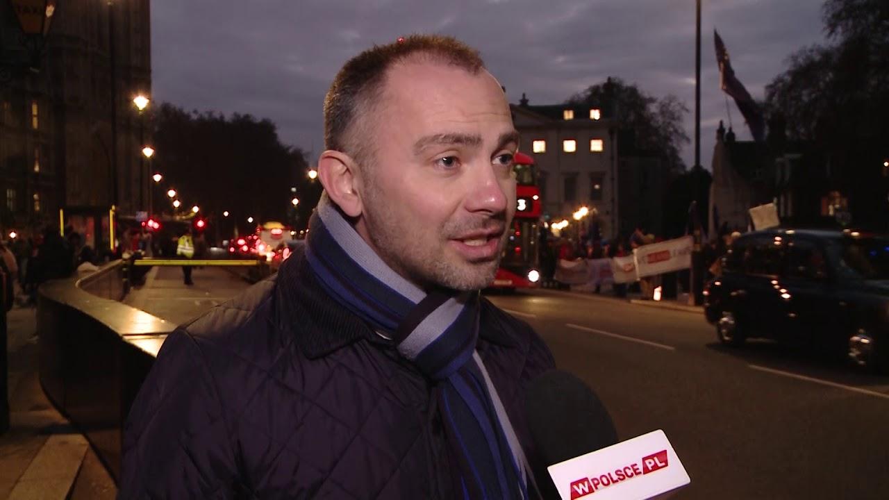 My Polacy jesteśmy w dobrej sytuacji w Londynie - mówi
