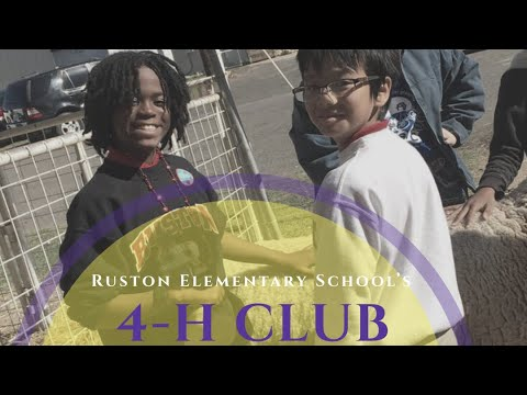 Ruston Elementary Schools 4-H Club Takes on the LSU AgMagic Tour