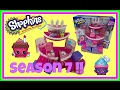 SHOPKINS Birthday Cake Surprise Party + Season 7 Present Blind Bags👑Princess Toy Channel for Girls