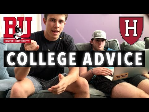COLLEGE FRESHMAN ADVICE! (ft. HARVARD FRESHMAN)