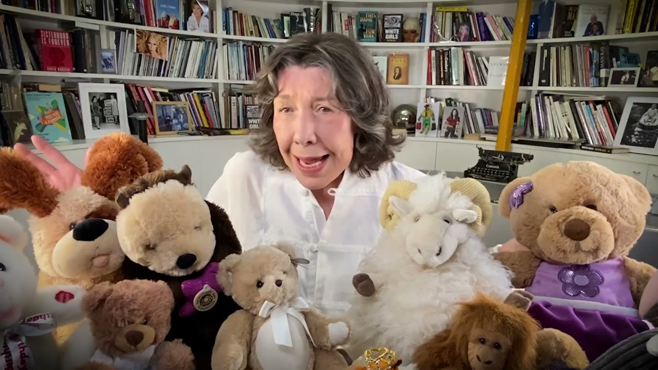 LILY TOMLIN, THE WORLD'S GREATEST STORYTELLER, WANTS YOU TO JOIN THE STORYTELLING LAB