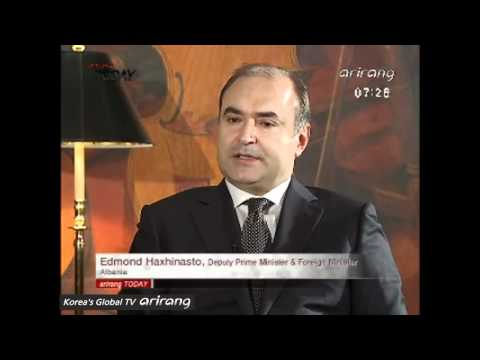 Interview with Albanian Foreign Minister [Arirang Today]