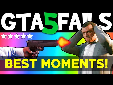 GTA 5 FAILS – Best Moments (GTA 5 Funny...