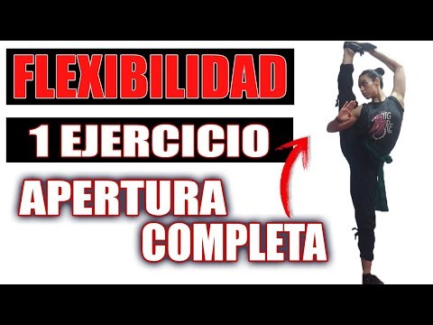 FLEXIBILIDAD PARA APERTURA COMPLETA en KUNG FU / ARTES MARCIALES