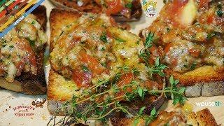 296 - Crostini alla chiantigiana...altro inno alla Toscana! (antipasto vegetariano facile e veloce)