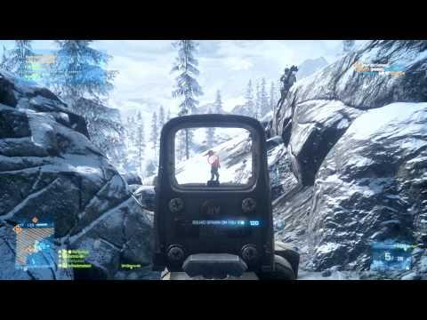 Battlefield 3 64 Player Rush Alborz Mountain Gameplay Max Ultra Settings PC