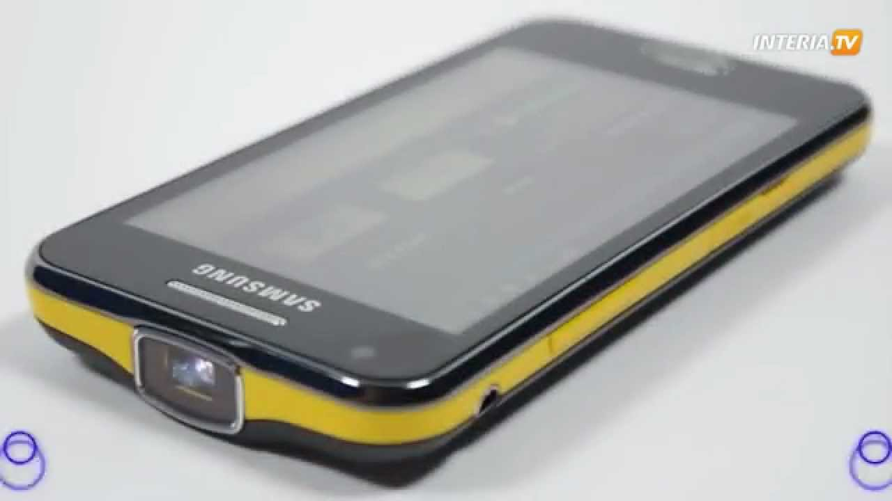 Samsung beam smartfon z projektorem youtube for Samsung beam tv