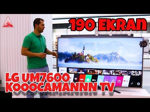 BATTAL BOY TV LG 75UM7600 4K WEBOS SMART TV İNCELEME 📺