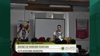 Jóvenes de Rionegro renuevan su Plataforma Municipal