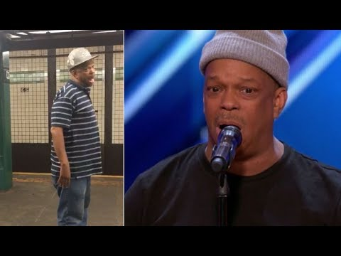 Thumbnail: The Viral NYC Subway Singer FINALLY Get's The Stage He Deserves | America's Got Talent 2017