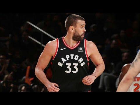 Marc Gasol Raptors Debut! DJ Oop Off Glass! 2018-19 NBA Season