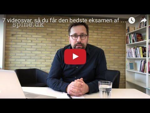 7 videosvar, så du får den bedste eksamen af Thomas Pape