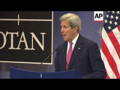 Kerry on Israeli-Palestinian peace talks