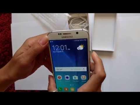 Samsung Galaxy S6 Desbloqueado de origem - NOVO