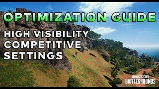 PUBG OPTIMIZATION GUIDE: NEW FOV SETTINGS/FPS TWEAKS - Battlegrounds Tips and Tricks