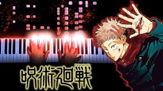 "Download Jujutsu Kaisen OP - ""Kaikai Kitan"" - Eve (Piano)"