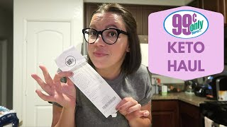99 Cent Store Keto Haul // How Much Did I Spend?!