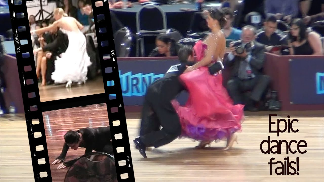 Epic Ballroom Dance Fails