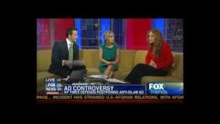 "Pamela Geller on Fox & Friends ""NY Times Islamophobia"""