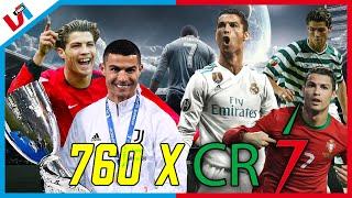 760 X CR7: Van Youtube-Voetballer Naar Beste Doelpuntenmaker Aller Tijden