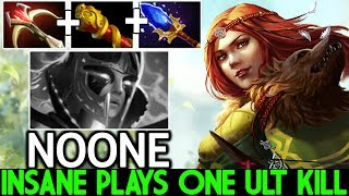 Noone [Windranger] 100% Counter PA Build One ULT Kill Pro Plays 7.21 Dota 2