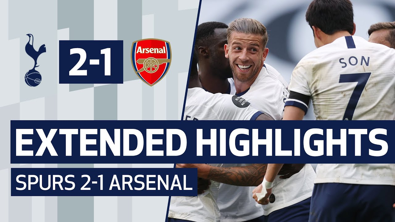 Download EXTENDED HIGHLIGHTS   SPURS 2-1 ARSENAL