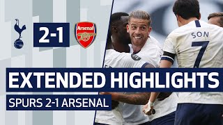 Extended Highlights | Spurs 2 1 Arsenal
