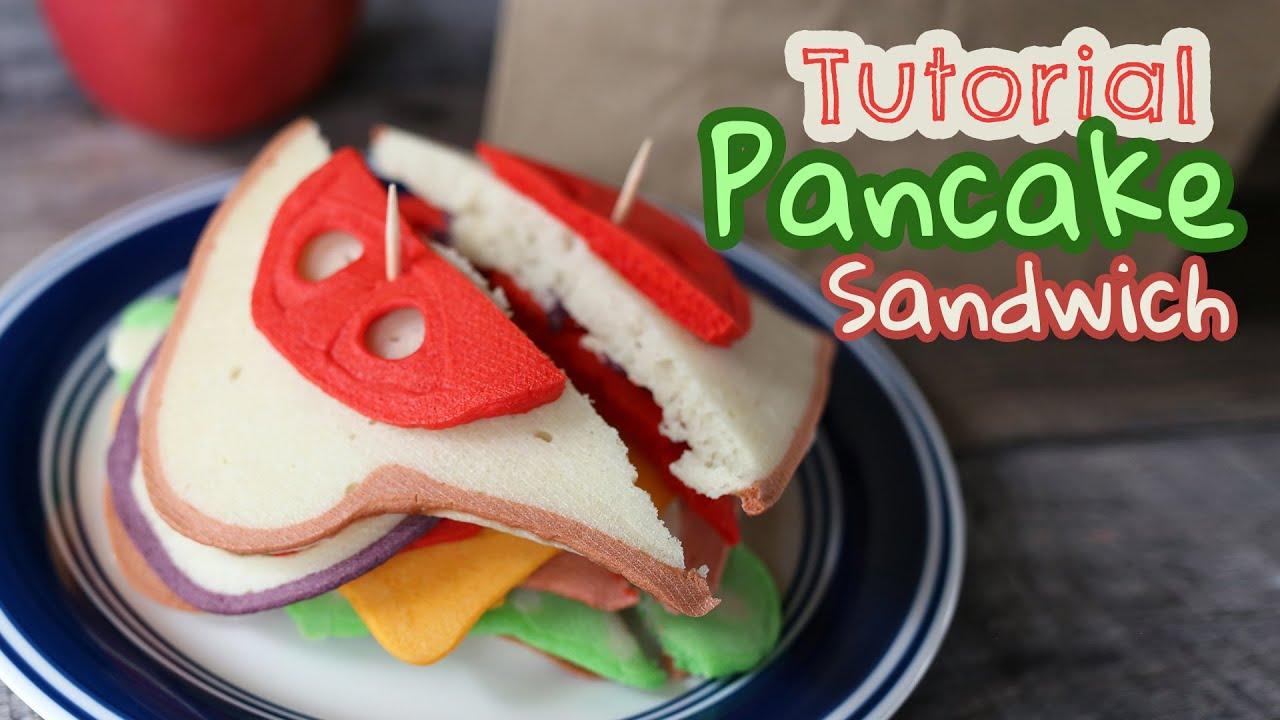 Tutorial: Pancake art Sandwich | Plus a Pattern for Prayer!