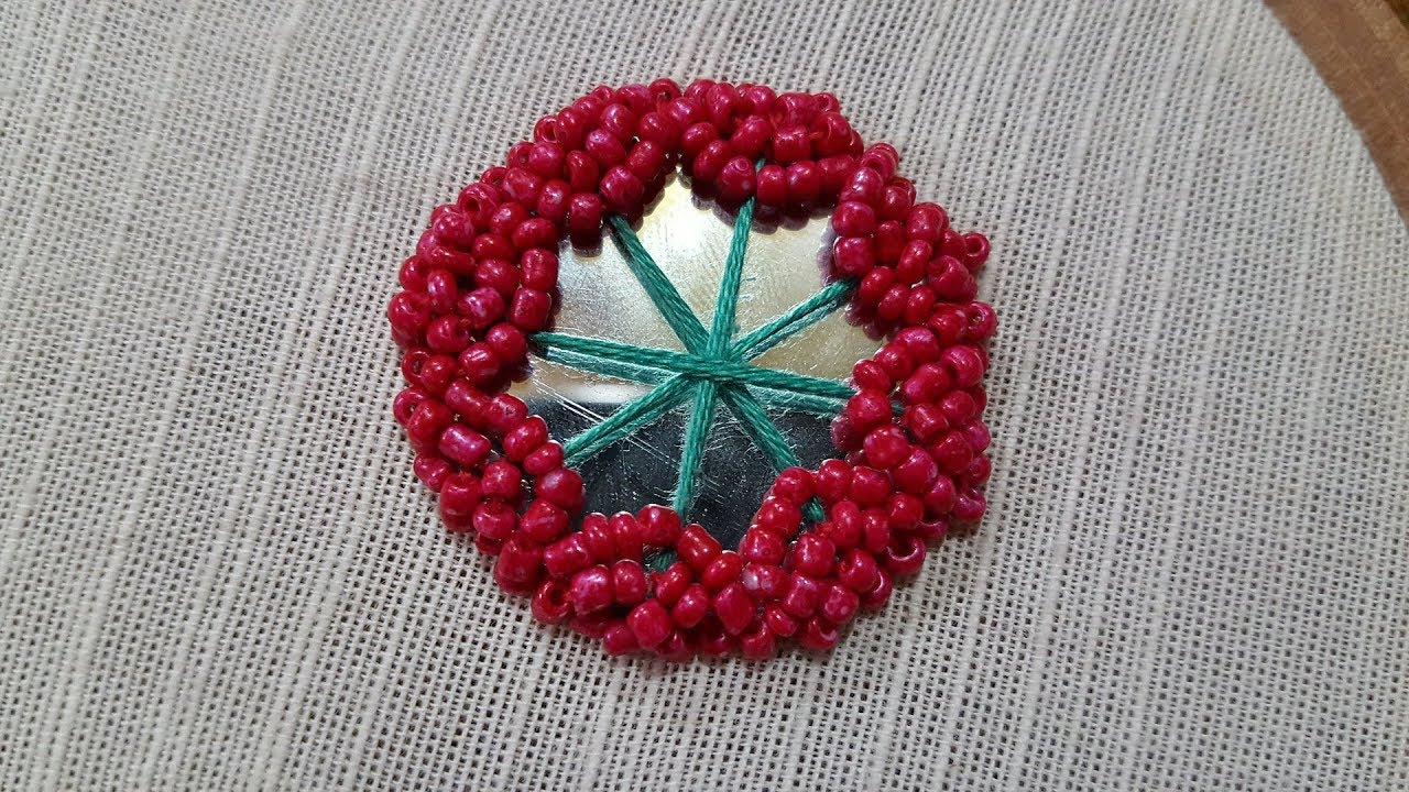 hand embroidery (beads) mirror work new Shisha : design 2017 for ...