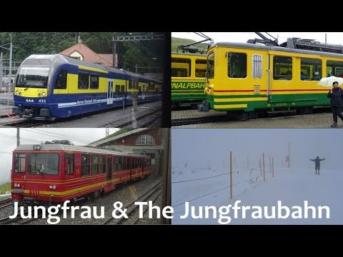 Jungfrau & The Jungfraubahn!