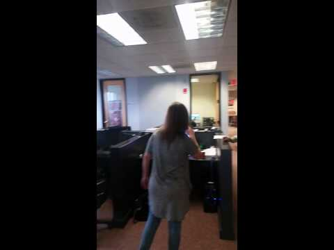 Wendy Radio dancing at 92.9 The Game!