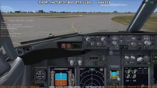 [FSX] PMDG 737 NGX | Johannesburg (FAOR) to Cape Town (FACT) Part 1