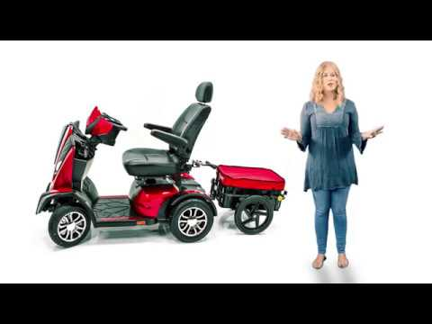 Challenger Scooter Trailer Assembly instructions - Top Mobility Specialists