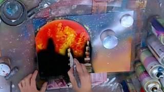 МК РИСУЮ ГРАФФИТИ 5 Пять минут - и ты художник! Рисуем баллончиком GRAFFITI урок Идеи рукоделия!