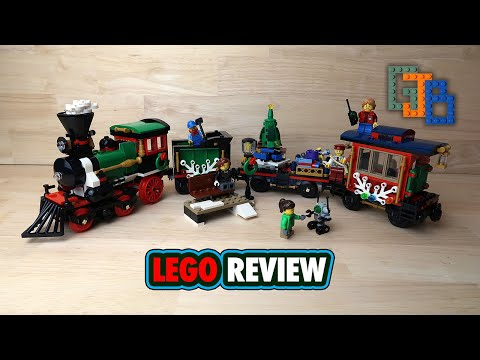 LEGO Creator Expert Winter Holiday Train 10254 Review!