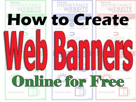 How to Create Free Online Web banners, Menu, Texts, Clocks and Widgts for your Website.