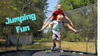 Trampoline Jumps Games And Fun