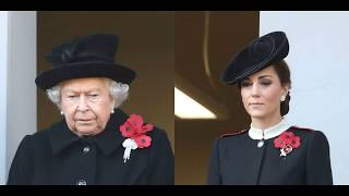 Royal family At The Cenotaph On Remembrance Sunday 2018