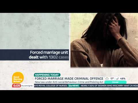 Forced Marriages Now Illegal In Britain | Good Morning Britain